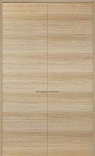 Façade placard PROBOPORTE en Chêne blanchi modèle FASHION